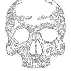 Ornate Skull by Matt Corrigan