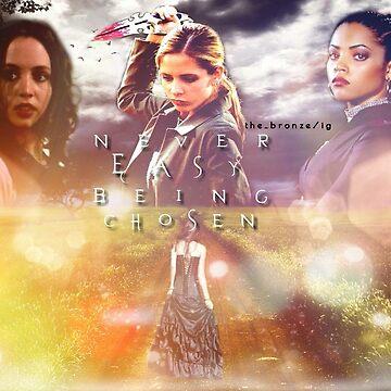 Faith, Buffy, Kendra by thebronze