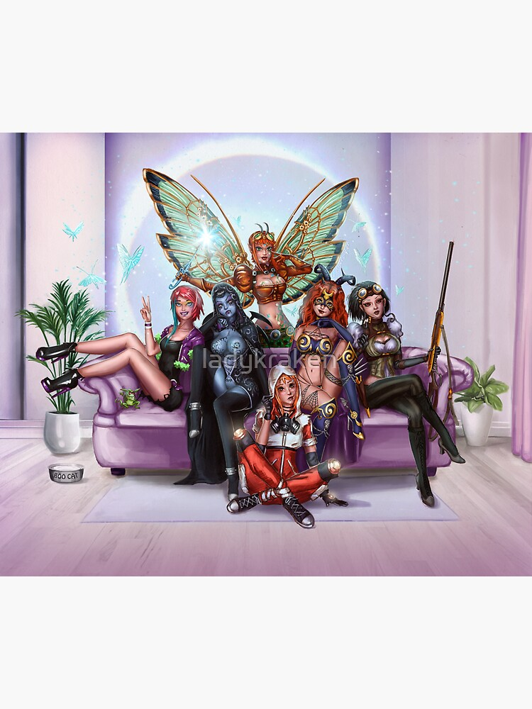 Queens And Rebels by ladykraken