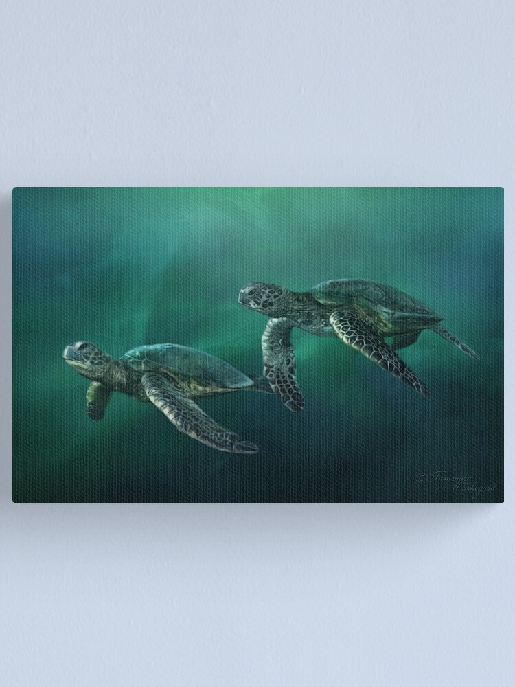 Alternate view of Ocean Flight Canvas Print