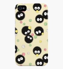 Ghibli Inspired Soot Sprites with Candy Pattern iPhone 4s/4 Case