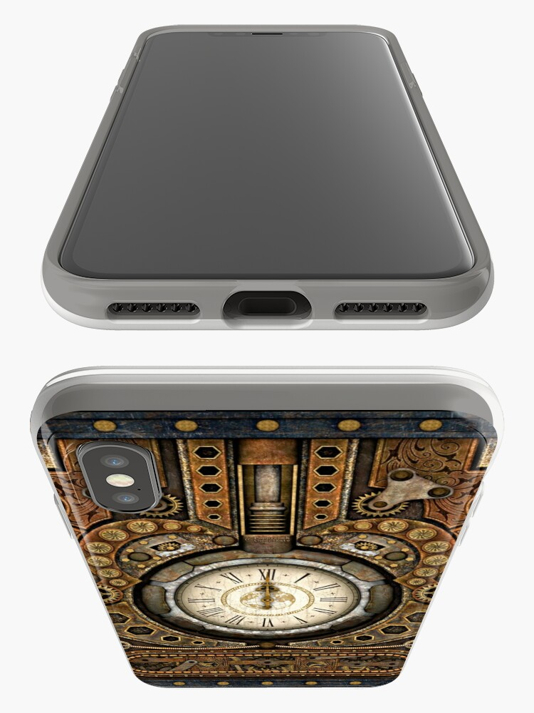 Alternate view of Steampunk Vintage Time Machine iPhone Cases & Covers