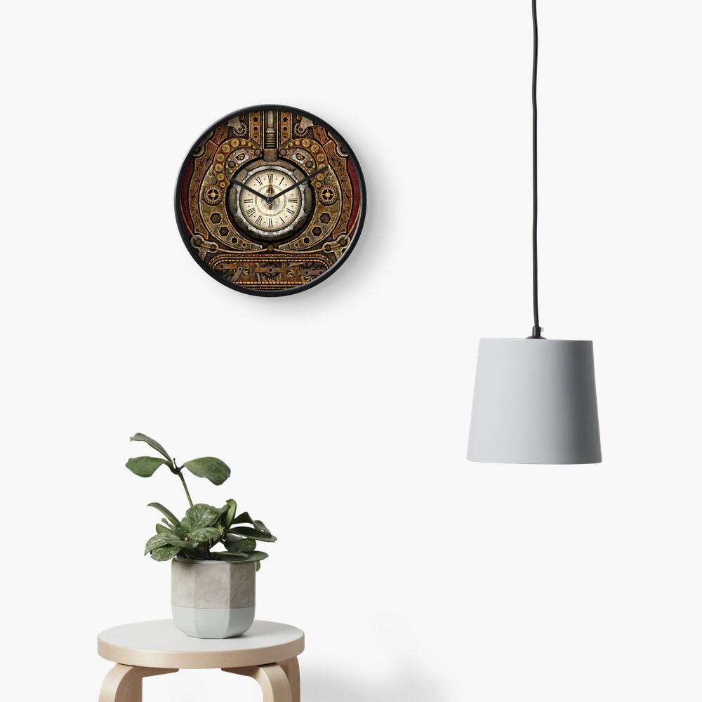 Steampunk Vintage Time Machine Clock