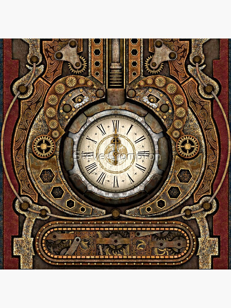 Steampunk Vintage Time Machine by SC001