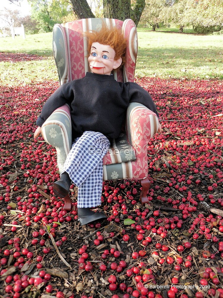 "Mortimer Snerd ""Ernie"" Chills Amongst the Crab Apples by Barberelli"