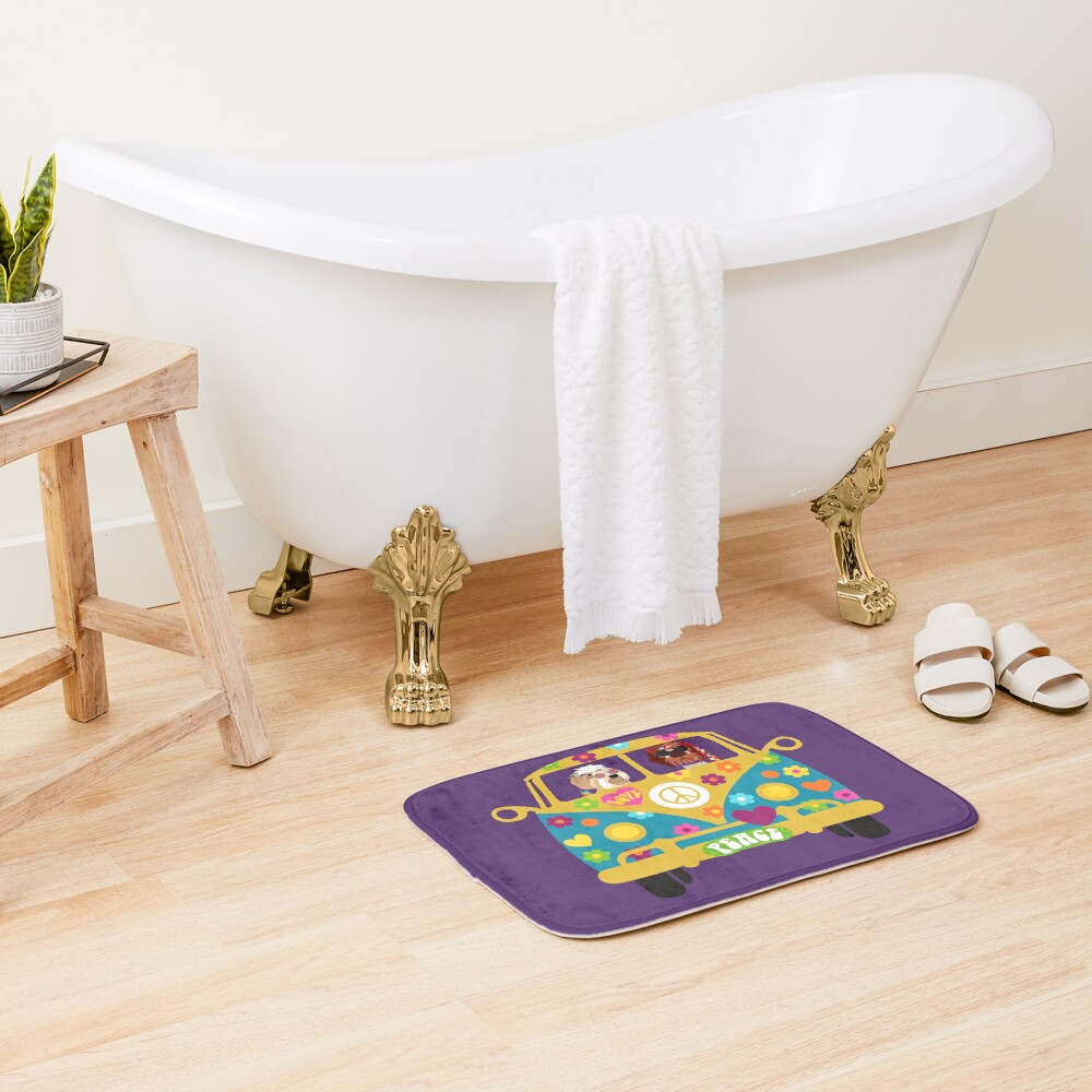 HIPPIE DUO Bath Mat