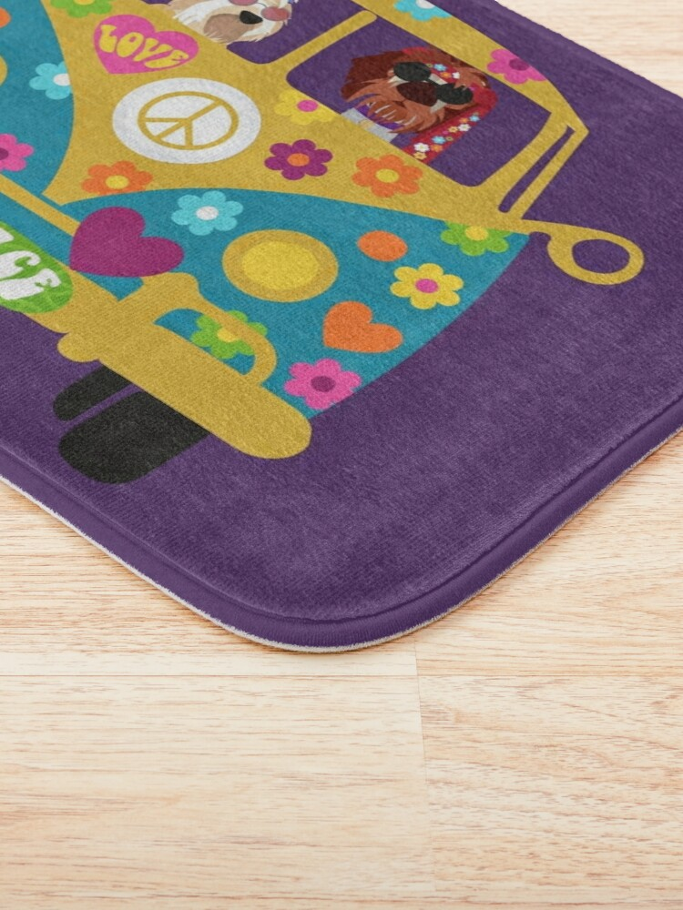 Alternate view of HIPPIE DUO Bath Mat