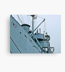 USS John W. Brown - Liberty Ship - Midship Metal Print