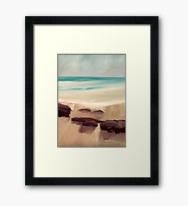 Cornish Light Framed Print