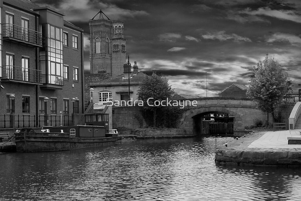 Storm Over Granary Wharf, Leeds by Sandra Cockayne