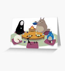 Studio ghibli greeting cards redbubble studio ghibli tea time greeting card bookmarktalkfo Choice Image