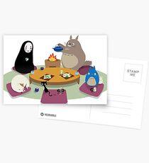 Studio Ghibli Tea Time Cartes postales