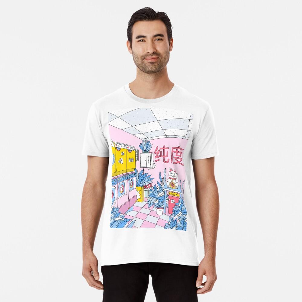 MANEKI WASH BLUE Premium T-Shirt