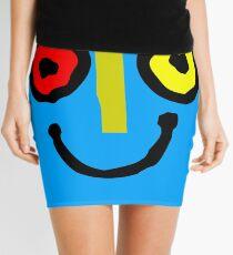 Bahamas goombay punch face geek funny nerd Mini Skirt