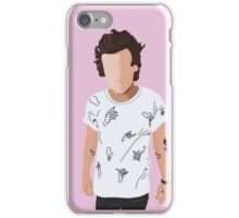 Harry Styles Hand T-Shirt Cartoon (Pink) iPhone Case/Skin