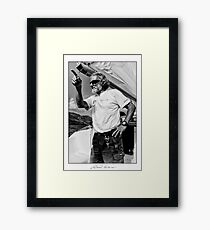 A great Sailor Framed Print