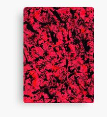 graffiti red Canvas Print