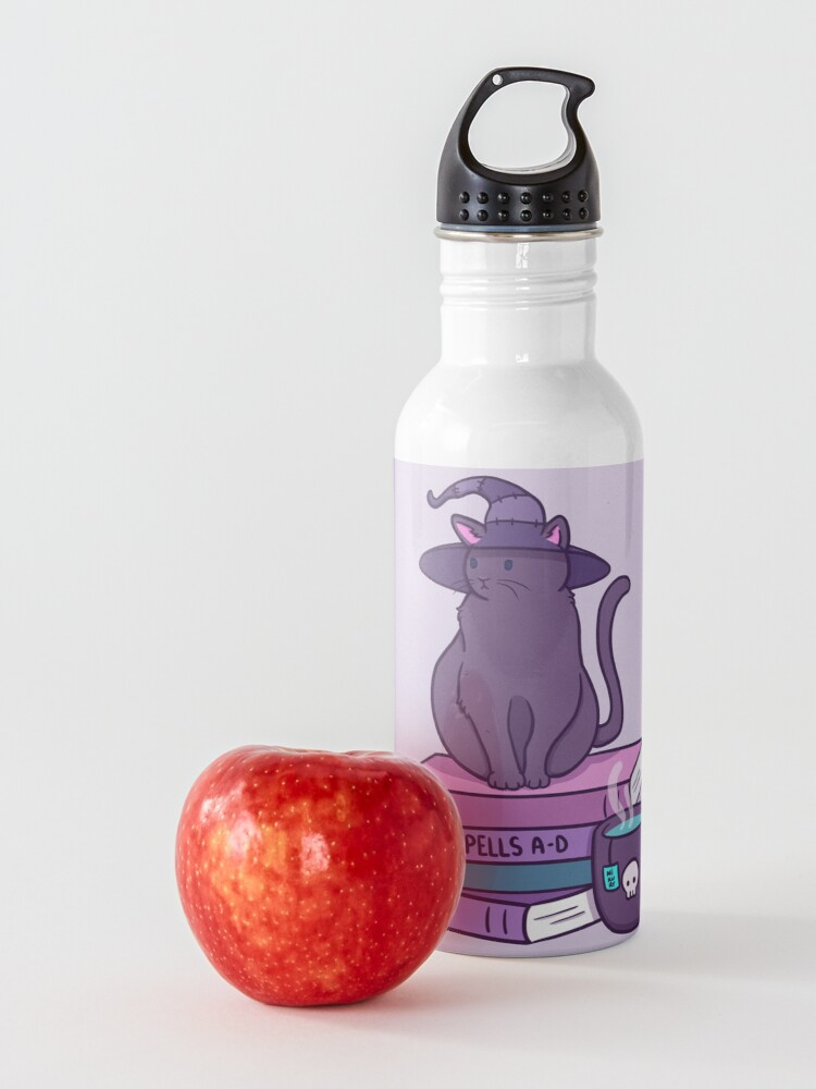 Alternate view of Feline Familiar Water Bottle