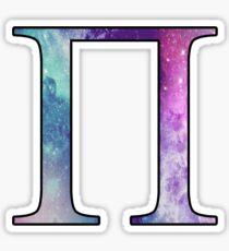 Pi Galaxy Sticker