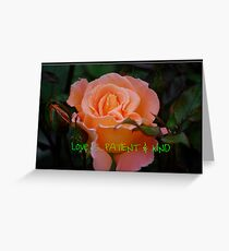 Calendar Rose - September Greeting Card