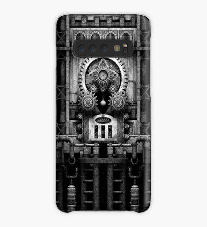 Infernal Steampunk Vintage Machine #3 Monochrome Case/Skin for Samsung Galaxy
