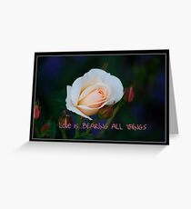 Calendar Rose - November Greeting Card