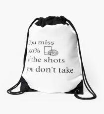 Shots! Shots! Shots! Drawstring Bag
