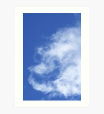 Cloud Angel Art Print
