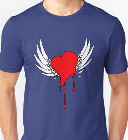 An Angels Bleeding Heart T-Shirt