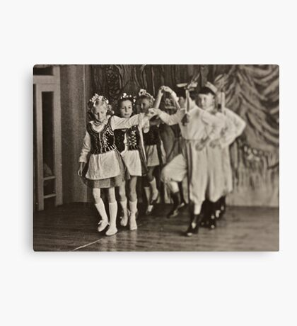 ♥ ♥ ♥ ♥ My Krakowiak Dance with  ♥ ♥ ♥ ♥ beautiful blonde Ewa ♥ ♥ ♥ ♥ .Brown Sugar Live  Book Story.1961. Views (1169) favorited by (3) . Time and feelings to remember ! My wonderful memories ! Canvas Print