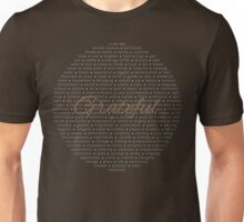 Gratitude - Color Unisex T-Shirt