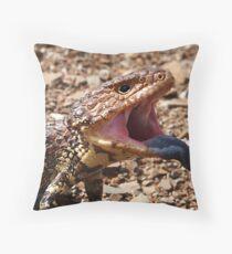Say Ahhhhh! Throw Pillow