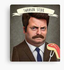 Swanson Steak Canvas Print
