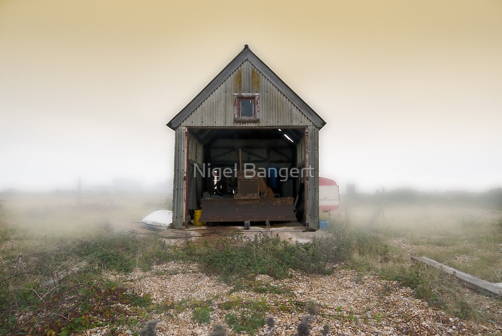 Bulldozer Shed by Nigel Bangert