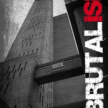 Brutalism #1 by vastasquoheem