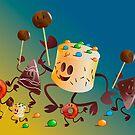 Dancing Pastry by Wilfried van Dokkumburg