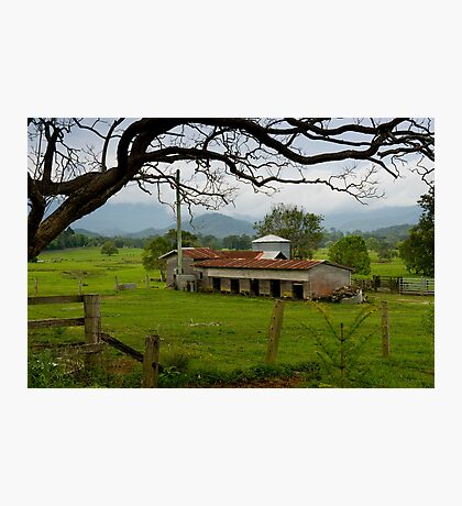 Rural life amongst the Mountains Photographic Print