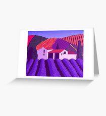 Lavender's er...........Mauve Greeting Card