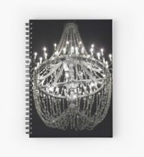 The Chandelier From An Underground Cathedral in Poland Spiral Notebook