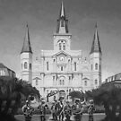 St. Louis Cathedral by jrutland