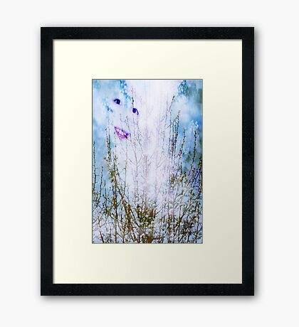 I Have My Head in the Clouds Framed Print
