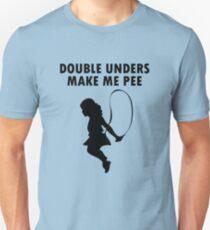 Double unders make pee geek funny nerd Unisex T-Shirt