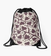 Hawthorn Tree pattern Drawstring Bag