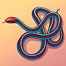 San Francisco Garter Snake by Tami Wicinas