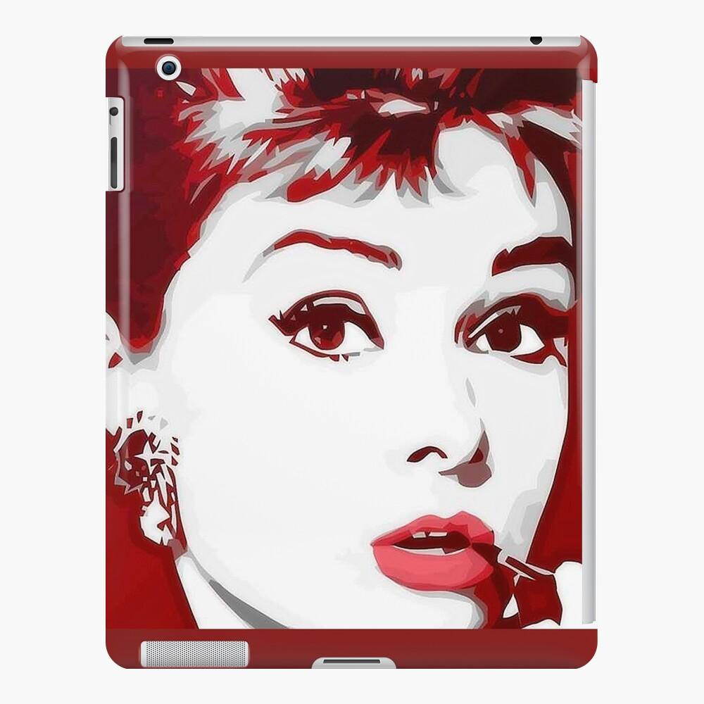 Audrey Hepburn Funda y vinilo para iPad