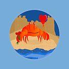 Crabby Valentine by elledeegee