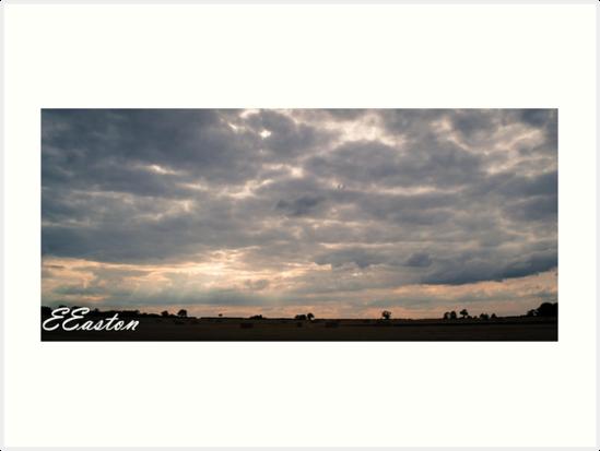 Norfolk Skyline by Eleanor Easton