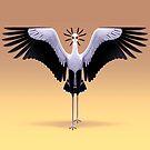 Secretarybird by Tami Wicinas