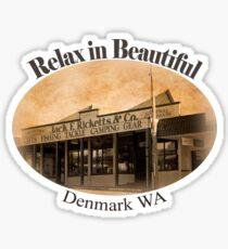 Denmark T Sticker