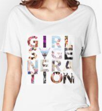 Camiseta ancha para mujer GIRLS´GENERATION - SNSD